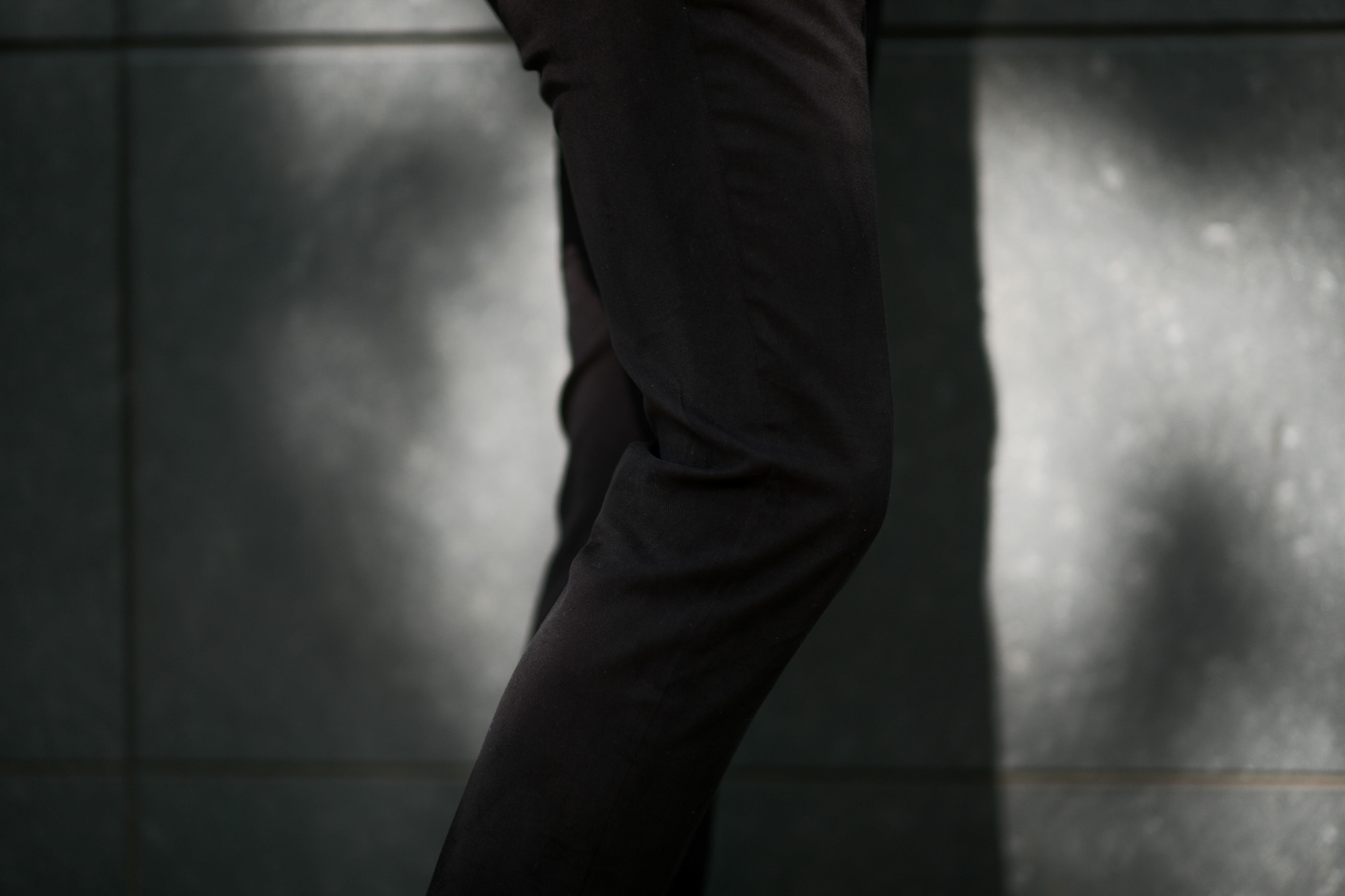 Cuervo (クエルボ) Sartoria Collection (サルトリア コレクション) Rooster (ルースター) STRETCH COTTON ストレッチコットン スーツ BLACK (ブラック) MADE IN JAPAN (日本製) 2019 秋冬 【ご予約開始】alto e diritto アルトエデリット