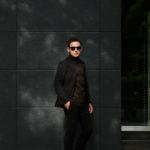 Cuervo (クエルボ) Sartoria Collection (サルトリア コレクション) Rooster (ルースター) STRETCH COTTON ストレッチコットン スーツ BLACK (ブラック) MADE IN JAPAN (日本製) 2019 秋冬 【ご予約開始】のイメージ