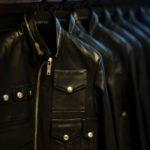 Cuervo (クエルボ) Satisfaction Leather Collection (サティスファクション レザー コレクション) HUNK(ハンク) BUFFALO LEATHER (バッファロー レザー) レザージャケット BLACK(ブラック) MADE IN JAPAN (日本製) 2019 秋冬新作 【入荷しました】【フリー分発売開始】のイメージ