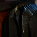 Cuervo (クエルボ) Satisfaction Leather Collection (サティスファクション レザー コレクション) LEON (レオン) BUFFALO LEATHER (バッファロー レザー) シングル テーラード ジャケット BLACK (ブラック) MADE IN JAPAN (日本製) 2019 秋冬新作 【入荷しました】【フリー分発売開始】のイメージ