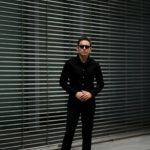 cuervo bopoha(クエルボ ヴァローナ) Satisfaction Leather Collection (サティスファクション レザー コレクション) Noel (ノエル) COW HIDE NUBUCK カウハイド ヌバック レザーシャツ BLACK (ブラック) MADE IN JAPAN (日本製) 2019 秋冬 【ご予約受付中】のイメージ