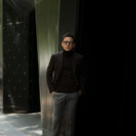 De Petrillo (デ ペトリロ) NAPOLI Posillipo (ナポリ ポジリポ) カシミア モールスキン 段返り3B ジャケット BROWN (ブラウン・358) Made in italy (イタリア製) 2019 秋冬新作のイメージ