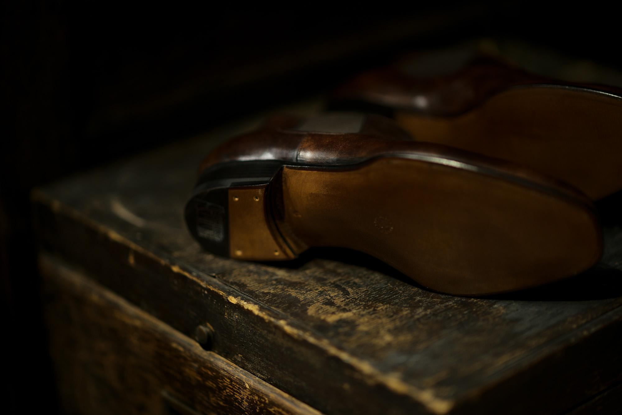 ENZO BONAFE (エンツォボナフェ) CARY GRANT III(ゲーリーグラント3)  MUSEUM CALF(ミュージアムカーフ)  Side gore Boots サイドゴアブーツ DARK BROWN(ダークブラウン) made in italy (イタリア製) 愛知 名古屋 altoediritto アルトエデリット