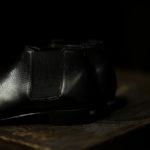 Georges de Patricia(ジョルジュ ド パトリシア) Diablo (ディアブロ) 925 STERLING SILVER (925 スターリングシルバー) Shrunken Calf (シュランケンカーフ) サイドゴアブーツ NOIR (ブラック) 2019 春夏新作 【Special Boots】【第2便ご予約受付中】のイメージ