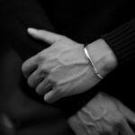 Georges de Patricia(ジョルジュ ド パトリシア) Ghost Solo (ゴースト ソロ) 925 STERLING SILVER (925 スターリングシルバー) WHITE DIAMOND(ホワイトダイヤモンド) シングル バングル  2019 秋冬のイメージ