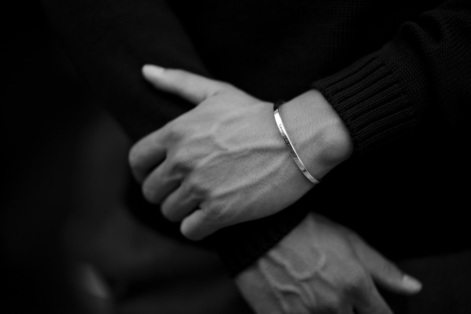 Georges de Patricia(ジョルジュ ド パトリシア) Ghost Solo (ゴースト ソロ) 925 STERLING SILVER (925 スターリングシルバー) WHITE DIAMOND(ホワイトダイヤモンド) シングル バングル  2019 秋冬 愛知 名古屋 altoediritto アルトエデリット georgesdepatricia roollsroyce ロールスロイス jewelry ジュエリ rolex 116618lb ロレックス サブマリーナ 青サブ chromehearts クロムハーツ ボールペン goyard ゴヤール