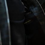 Georges de Patricia (ジョルジュ ド パトリシア) Huracan Porosus Crocodile(ウラカン ポロサス クロコダイル) 925 STERLING SILVER (925 スターリングシルバー) Porosus Crocodile ポロサス クロコダイル エキゾチックレザー ダブルライダース ジャケット NOIR (ブラック) 2019 秋冬 【Special Model】【ご予約受付中】のイメージ