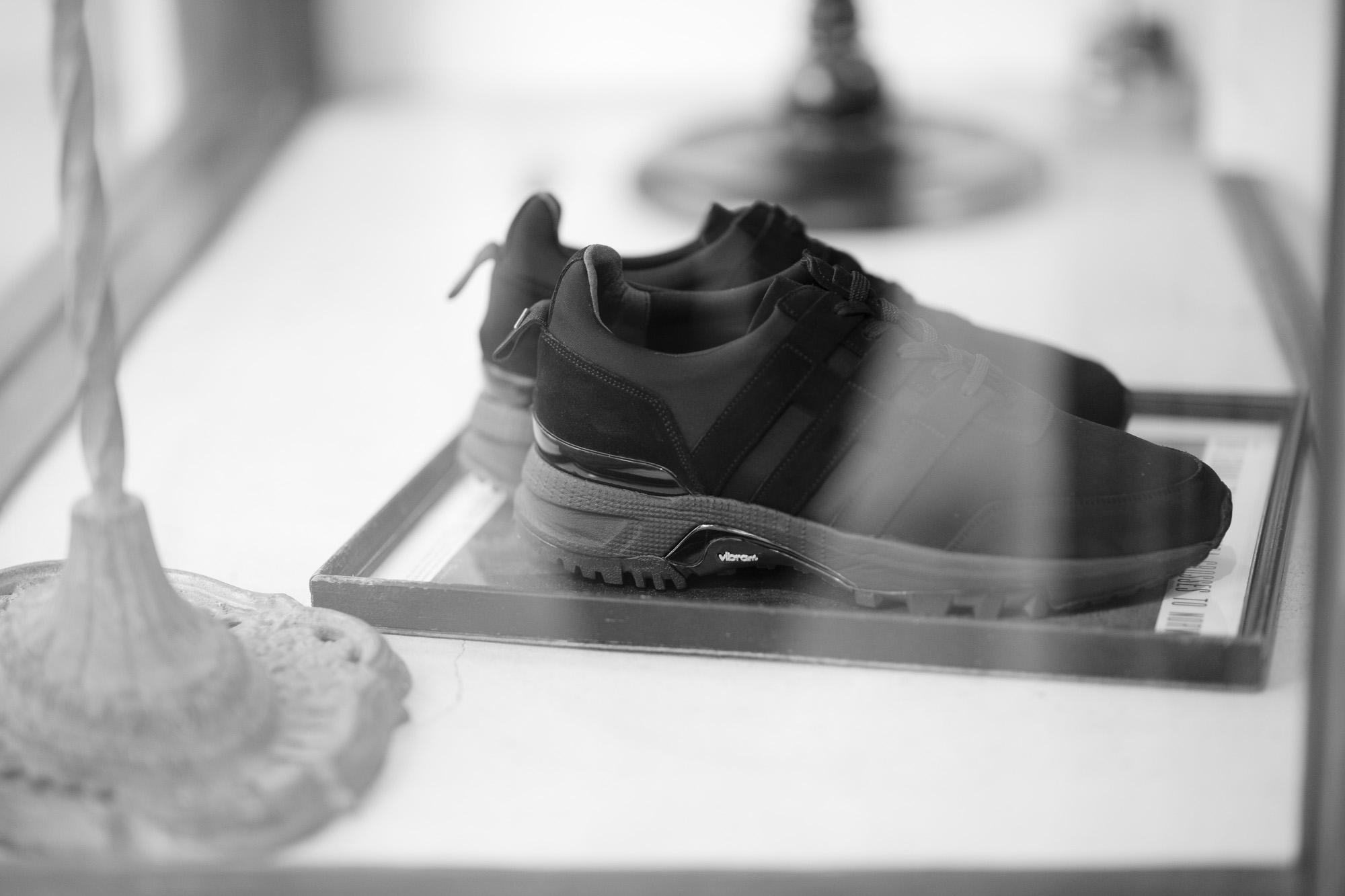 WH (ダブルエイチ) WH-0111S Faster Last(ファスターラスト) Suede Leather スエードレザー スニーカー BLACK×BLACK (ブラック×ブラック) MADE IN JAPAN (日本製) 2019 秋冬 【ご予約開始】【Alto e Diritto 別注 限定スエードモデル】 愛知 名古屋 alto e diritto altoediritto アルトエデリット