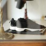 WH (ダブルエイチ) WH-0111S Faster Last(ファスターラスト) Suede Leather スエードレザー スニーカー BLACK×WHITE (ブラック×ホワイト) MADE IN JAPAN (日本製) 2019 秋冬新作【Alto e Diritto 別注 限定スエードモデル】 【第2便12月入荷分】【ご予約受付中】のイメージ