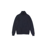 ZANONE (ザノーネ) Turtle Neck Sweater (タートルネックセーター) 810005 Z0229 VIRGIN WOOL 100% ミドルゲージ ウールニット セーター NAVY (ネイビー・Z1375) made in italy (イタリア製) 2019 秋冬 【ご予約受付中】のイメージ