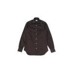 AVINO(アヴィーノ) Poplin Dress Shirts コットン ブロード ポプリン ドレスシャツ BROWN(ブラウン) made in italy (イタリア製) 2019 秋冬新作のイメージ