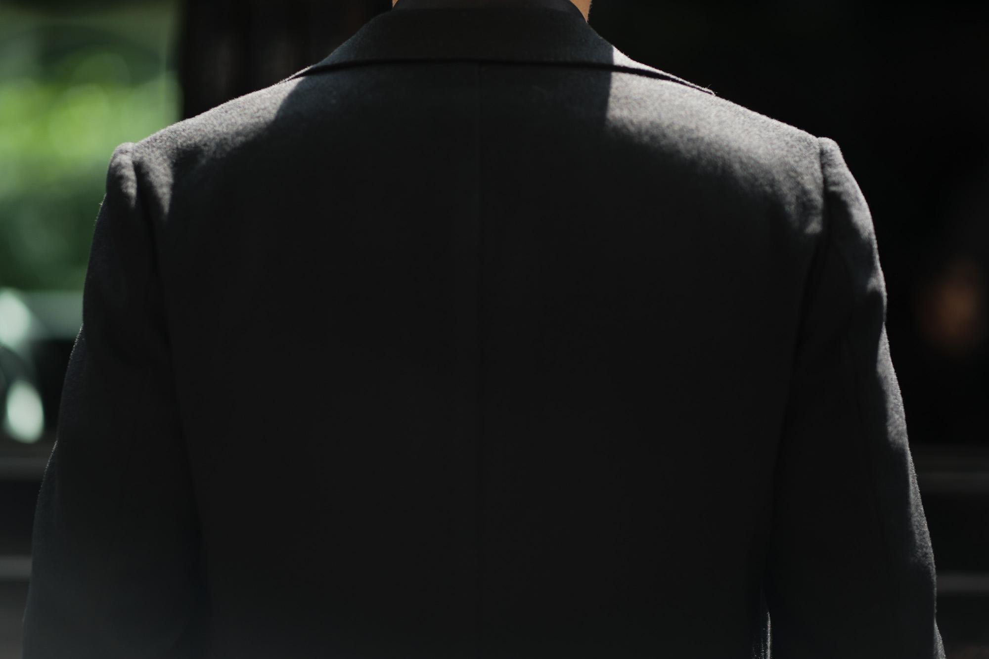 Cuervo (クエルボ) Sartoria Collection (サルトリア コレクション) Lobb (ロブ) Cashmere カシミア 3B ジャケット BLACK (ブラック) MADE IN JAPAN (日本製) 2019 秋冬 【ご予約受付中】愛知 名古屋 altoediritto アルトエデリット スーツ ジャケット カシミヤ
