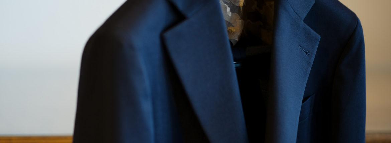 Cuervo (クエルボ) Sartoria Collection (サルトリア コレクション) Rooster (ルースター) Stretch Jersey  ストレッチ ジャージ スーツ NAVY (ネイビー) MADE IN JAPAN (日本製) 2019 秋冬【オーダー分入荷】のイメージ