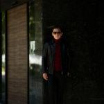Cuervo (クエルボ) Satisfaction Leather Collection (サティスファクション レザー コレクション) East West(イーストウエスト)  SMOKE(スモーク) BUFFALO LEATHER (バッファロー レザー) レザージャケット BLACK(ブラック) MADE IN JAPAN (日本製) 2019 秋冬新作のイメージ