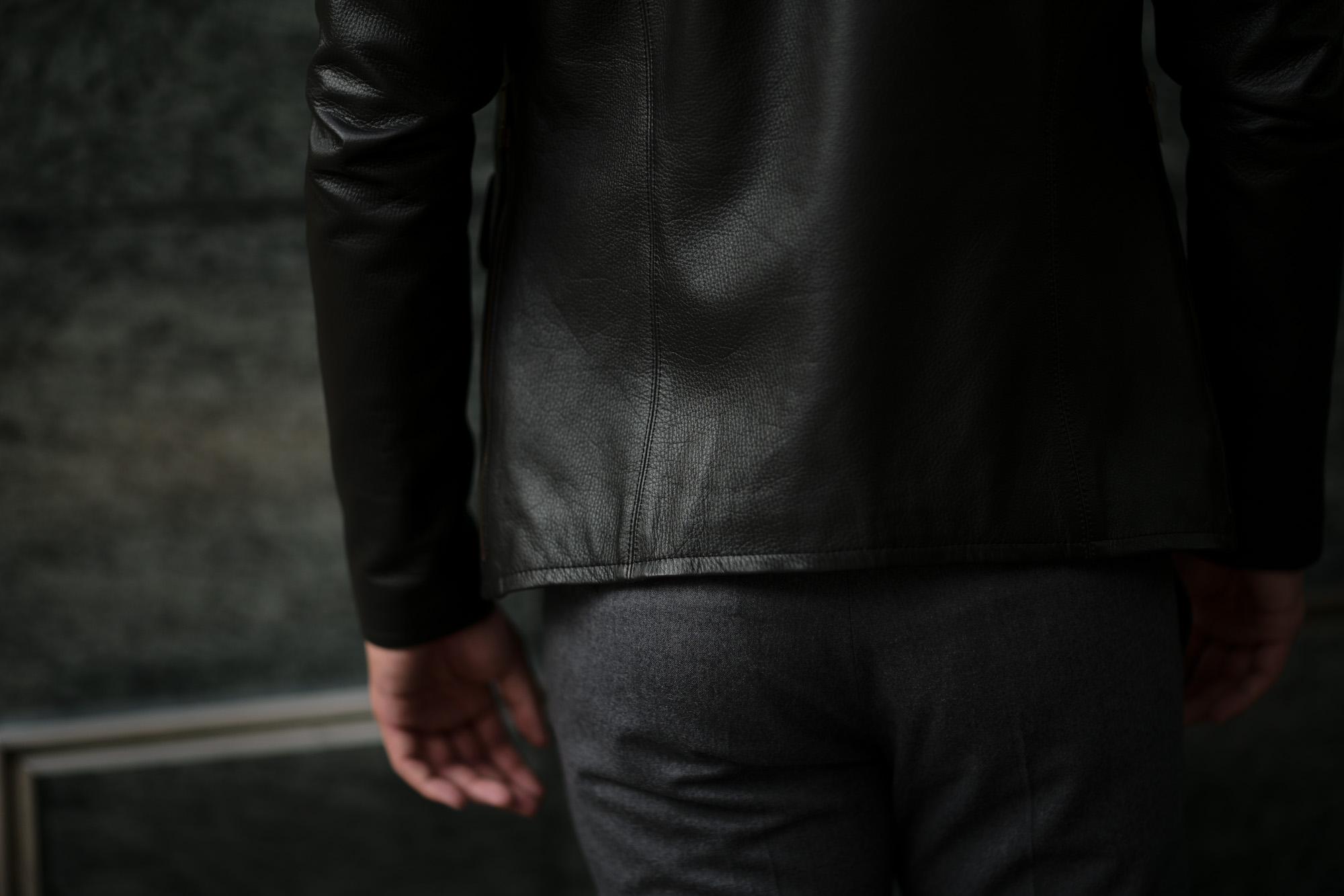 Cuervo (クエルボ) Satisfaction Leather Collection (サティスファクション レザー コレクション) East West(イーストウエスト)  SMOKE(スモーク) BUFFALO LEATHER (バッファロー レザー) レザージャケット BROWN(ブラウン) MADE IN JAPAN (日本製) 2019 秋冬新作  愛知 名古屋 altoediritto アルトエデリット 洋服屋 レザージャケット サウスパラディソ eastwest