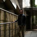 Cuervo (クエルボ) Satisfaction Leather Collection (サティスファクション レザー コレクション) TOM (トム) BUFFALO LEATHER (バッファロー レザー) シングル ライダース ジャケット BROWN (ブラウン) MADE IN JAPAN (日本製) 2019 秋冬新作のイメージ
