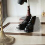 ENZO BONAFE(エンツォボナフェ) BERING(ベーリング) Crocodile クロコダイル ノルベジェーゼ製法 Uチップシューズ エキゾチックレザーシューズ COCCO NERO (ブラック)  made in italy(イタリア製) 2019 新作のイメージ