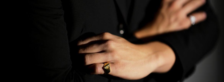 FIXER(フィクサー) ILLUMINATI EYES RING 18K GOLD イルミナティ アイズリング GOLD(ゴールド) 愛知 名古屋 Alto e Diritto アルトエデリット 18金 リング