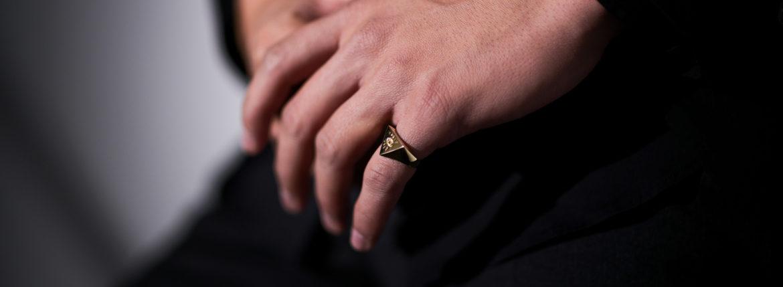 FIXER(フィクサー) ILLUMINATI EYES RING 18K GOLD イルミナティ アイズリング GOLD(ゴールド) 【ご予約受付中】愛知 名古屋 Alto e Diritto アルトエデリット 18金 リング
