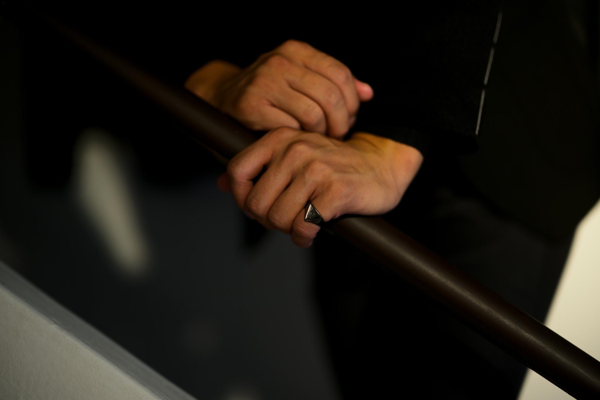 FIXER(フィクサー) ILLUMINATI EYES RING BLACK RHODIUM(ブラック ロジウム) イルミナティ アイズリング BLACK(ブラック) 【ご予約受付中】愛知 名古屋 Alto e Diritto アルトエデリット シルバーリング リング