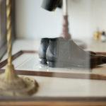Georges de Patricia(ジョルジュ ド パトリシア) Diablo (ディアブロ) 925 STERLING SILVER (925 スターリングシルバー) Shrunken Calf (シュランケンカーフ) サイドゴアブーツ NOIR (ブラック) 2019 新作 【Special Boots】のイメージ