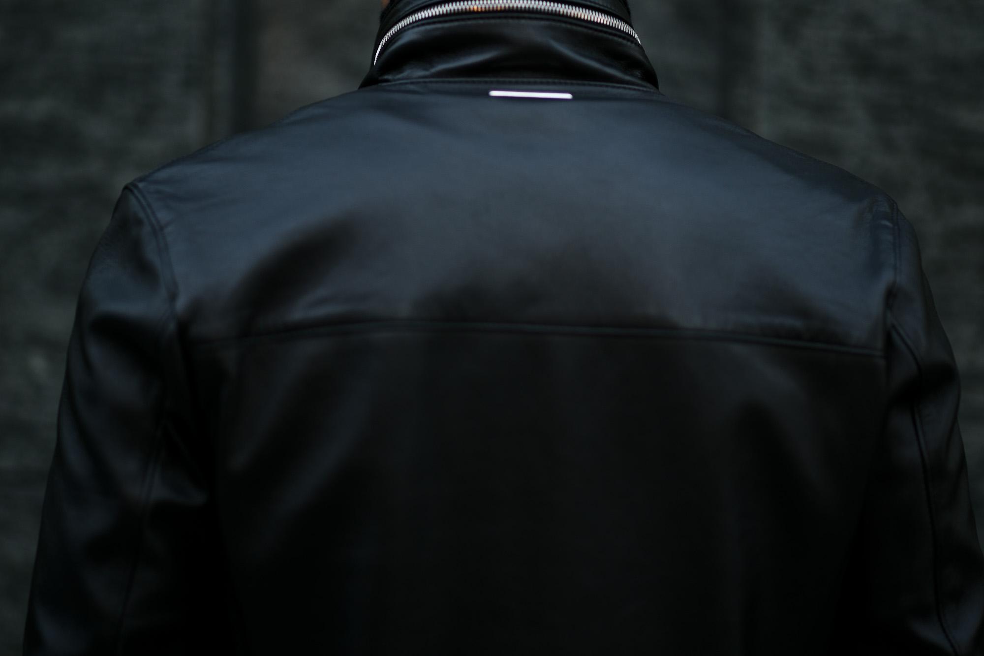 Georges de Patricia (ジョルジュ ド パトリシア) Huracan(ウラカン) 925 STERLING SILVER (925 スターリングシルバー) Super Soft Sheepskin ダブル ライダース ジャケット NOIR (ブラック) 2019 秋冬新作  愛知 名古屋 alto e diritto アルトエデリット