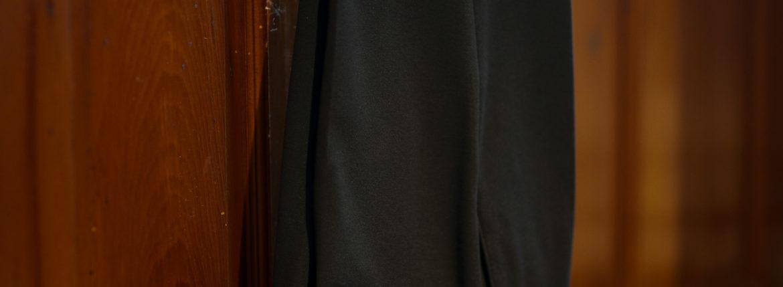 INCOTEX (インコテックス) N35 SLIM FIT (1NT035) High Comfort Soft Jersey (ハイコンフォートソフトジャージ) ジャージ スラックス CHARCOAL (チャコール・930) 2019 秋冬新作のイメージ