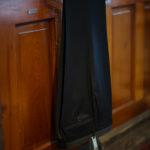 INCOTEX (インコテックス) N35 SLIM FIT (1NT035) SUPER 100'S WOOLLEN TWILL サージウール スラックス CHACOAL GRAY (チャコールグレー・930) 2019 秋冬新作のイメージ