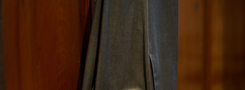 INCOTEX (インコテックス) N35 SLIM FIT (1NT035) SUPER 100'S WOOLLEN TWILL サージウール スラックス GRAY (グレー・912) 2019 秋冬新作 愛知 名古屋 altoediritto アルトエデリット