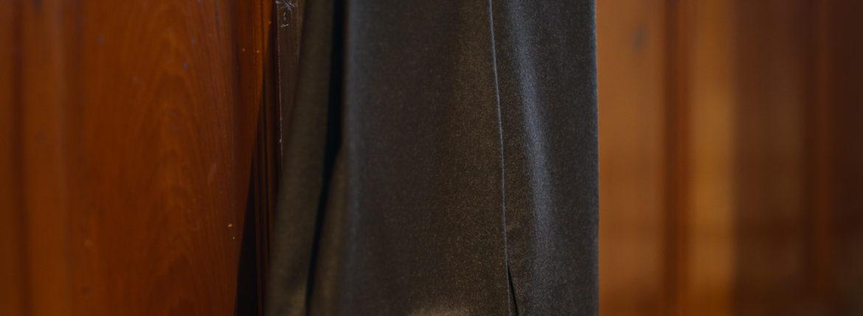 INCOTEX (インコテックス) N35 SLIM FIT (1NT035) SUPER 100'S WORSTED FLANNEL フランネル ウール スラックス BROWN (ブラウン・610) 2019 秋冬新作のイメージ