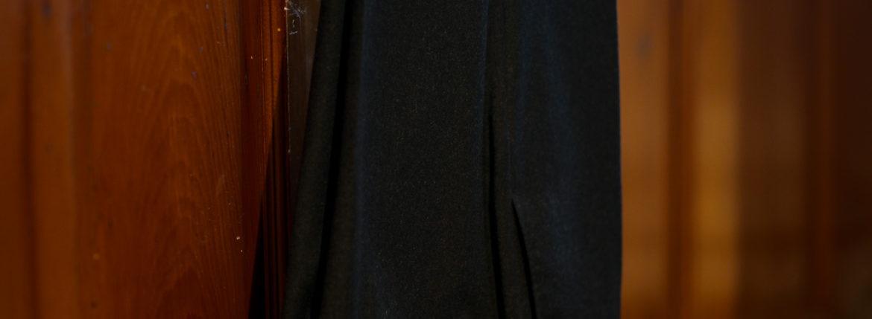 INCOTEX (インコテックス) N35 SLIM FIT (1NT035) SUPER 100'S WORSTED FLANNEL フランネル ウール スラックス CHARCOAL GRAY (チャコールグレー・930) 2019 秋冬新作のイメージ