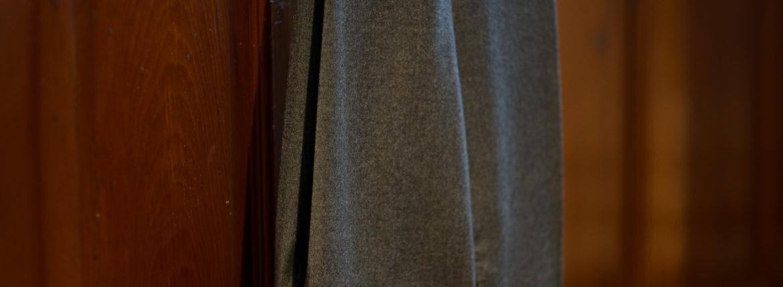 INCOTEX (インコテックス) N35 SLIM FIT (1NT035) SUPER 100'S WORSTED FLANNEL フランネル ウール スラックス GRAY (グレー・911) 2019 秋冬新作のイメージ
