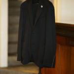 LARDINI (ラルディーニ) EASY WEAR (イージーウエア) Pakkaburu Jersey Suit パッカブルジャージスーツ NAVY (ネイビー・2) 2019 秋冬新作のイメージ