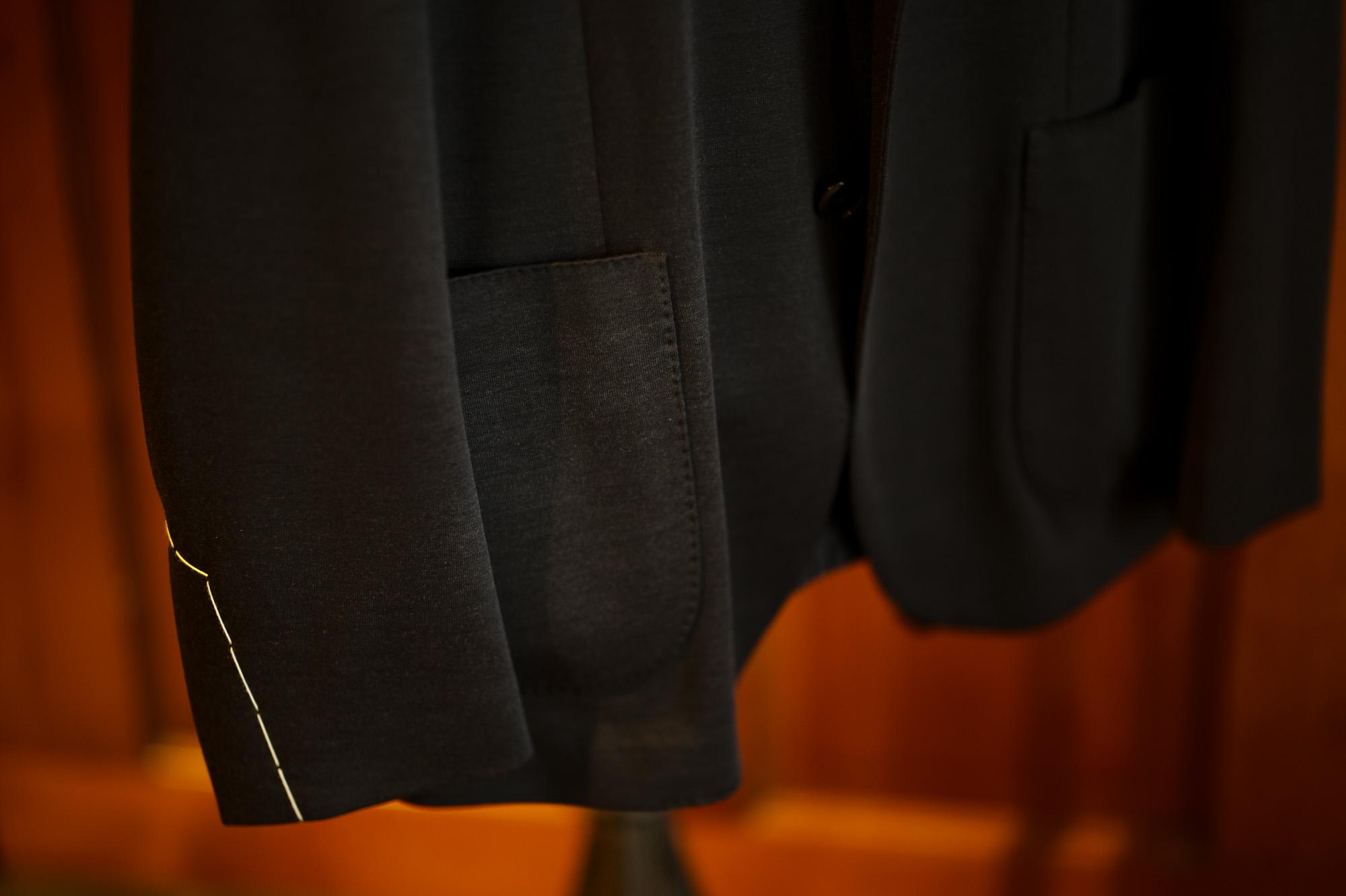 LARDINI (ラルディーニ) EASY WEAR (イージーウエア) Pakkaburu Jersey Suit パッカブルジャージスーツ NAVY (ネイビー・2) 2019 秋冬新作 愛知 名古屋 altoediritto アルトエデリット