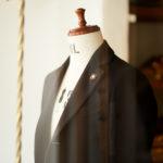 LARDINI (ラルディーニ) Spolverino Chester coat (スポルベリーノ チェスターコート) フラノウール生地 シングル チェスターコート NAVY (ネイビー・5) Made in italy (イタリア製) 2019 秋冬新作のイメージ