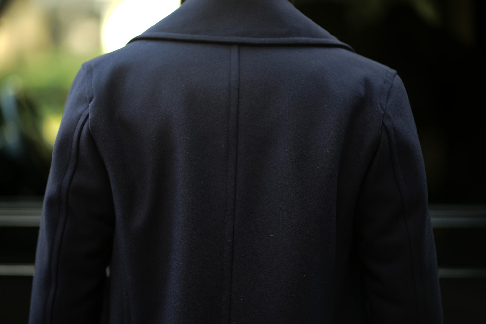 Sealup(シーラップ) GENOVA(ジェノバ) 50002 7591 01 メルトンウール サーモアライニング ロングPコート  NAVY (ネイビー・01) MADE IN ITALY(イタリア製) 2019 秋冬 【ご予約受付中】シーラップ 愛知 名古屋 Alto e Diritto アルト エ デリット Pコート コート coat