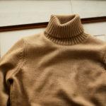 ZANONE (ザノーネ) Turtle Neck Sweater (タートルネックセーター) 810005 Z0229 VIRGIN WOOL 100% ミドルゲージ ウールニット セーター CAMEL (キャメル・Z4210) made in italy (イタリア製) 2019 秋冬新作【入荷しました】【フリー分発売開始】のイメージ