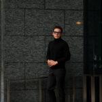 ZANONE (ザノーネ) Turtle Neck Sweater (タートルネックセーター) 810005 Z0229 VIRGIN WOOL 100% ミドルゲージ ウールニット セーター BLACK (ブラック・Z0015) made in italy (イタリア製) 2019 秋冬新作 【入荷済みとなります】【発売中】のイメージ