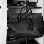 ACATE(アカーテ)OSTRO-M(オストロ-M) Montblanc leather(モンブランレザー) トートバック レザーバック NERO(ネロ) MADE IN ITALY(イタリア製) 2020 春夏 【ご予約受付中】のイメージ