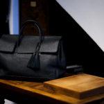 ACATE(アカーテ)OSTRO-M(オストロ-M) Montblanc leather(モンブランレザー) トートバック レザーバック NERO(ネロ) MADE IN ITALY(イタリア製) 2020 春夏 【ご予約開始】愛知 名古屋 altoediritto アルトエデリット トートバック