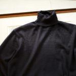 Cruciani (クルチアーニ) Silk Cashmere Turtle Neck Sweater (シルクカシミヤ タートルネック セーター) NAVY (ネイビー・5508D) made in italy (イタリア製) 2019 秋冬新作のイメージ