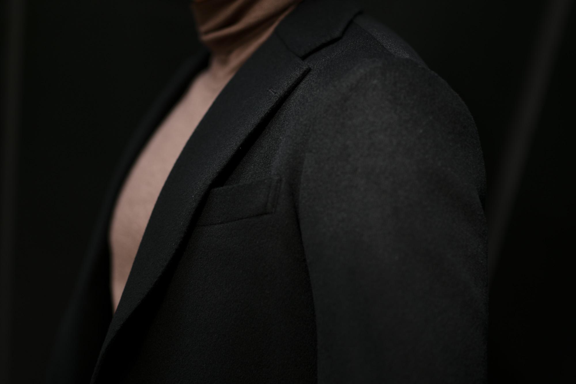Cuervo (クエルボ) Sartoria Collection (サルトリア コレクション) Lobb (ロブ) Cashmere カシミア 3B ジャケット BLACK (ブラック) MADE IN JAPAN (日本製) 2019 秋冬 【ご予約受付中】 愛知 名古屋 altoediritto アルトエデリット スーツ ジャケット カシミヤ