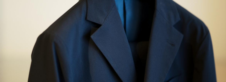 Cuervo (クエルボ) Sartoria Collection (サルトリア コレクション) Rooster (ルースター) STRETCH NYLON ストレッチナイロン スーツ NAVY (ネイビー) MADE IN JAPAN (日本製) 2019【オーダー分入荷】のイメージ