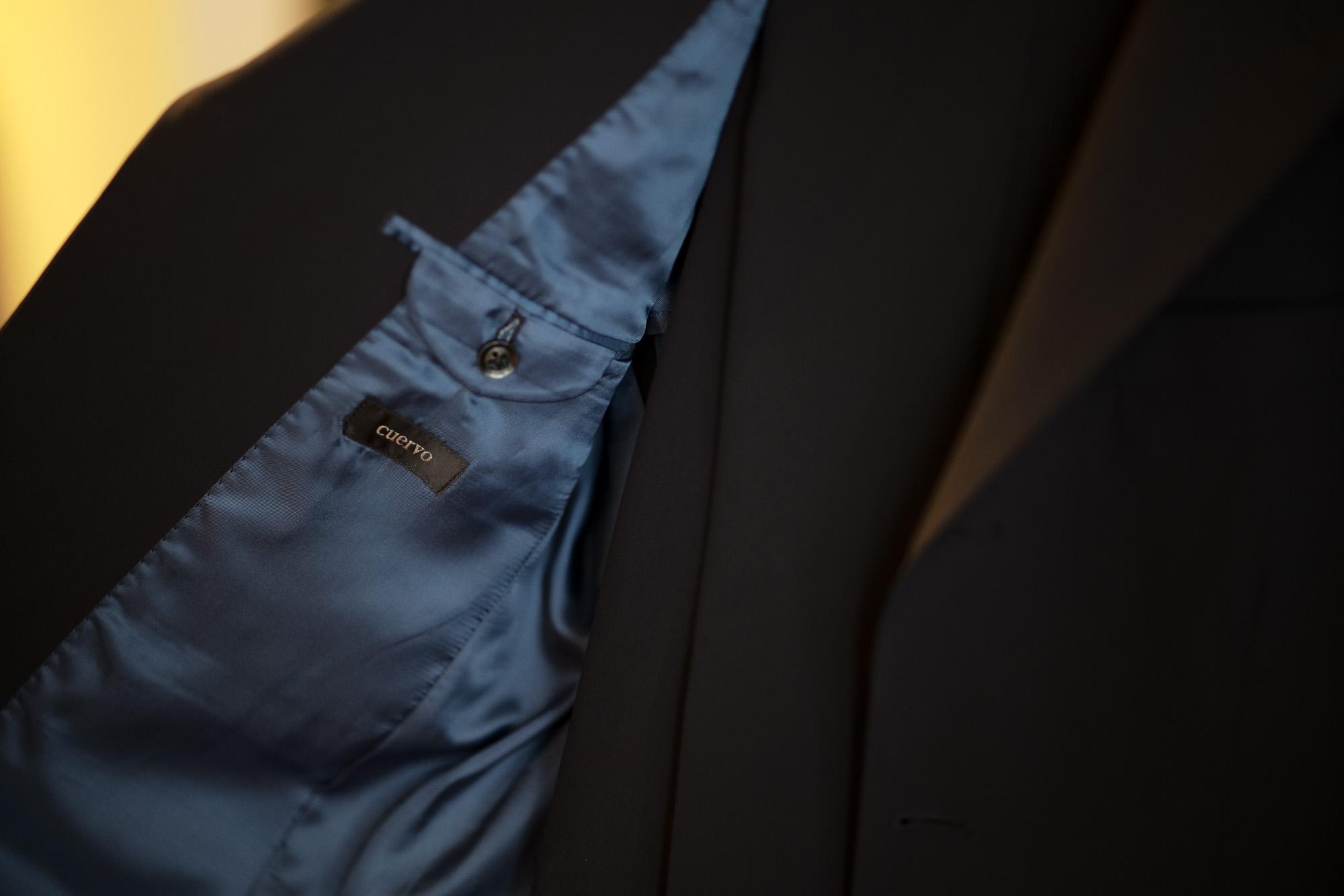 Cuervo (クエルボ) Sartoria Collection (サルトリア コレクション) Rooster (ルースター) STRETCH NYLON ストレッチナイロン スーツ NAVY (ネイビー) MADE IN JAPAN (日本製) 2019【オーダー分入荷】愛知 名古屋 alto e diritto アルトエデリット