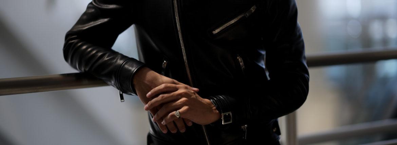 FIXER(フィクサー) CROCODILE LEATHER BRACELET 18K WHITE GOLD (18K ホワイトゴールド) クロコダイル レザー ブレスレット BLACK (ブラック) 【ご予約開始】のイメージ