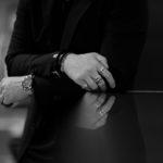 FIXER(フィクサー) CROCODILE LEATHER BRACELET 925 STERLING SILVER(925 スターリングシルバー) クロコダイル レザー ブレスレット BLACK (ブラック) 【ご予約開始】愛知 名古屋 altoediritto アルトエデリット クロコダイル ブレスレット バングル