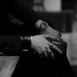 FIXER(フィクサー) CROCODILE LEATHER BRACELET 925 STERLING SILVER(925 スターリングシルバー) クロコダイル レザー ブレスレット BLACK (ブラック) 【ご予約受付中】のイメージ
