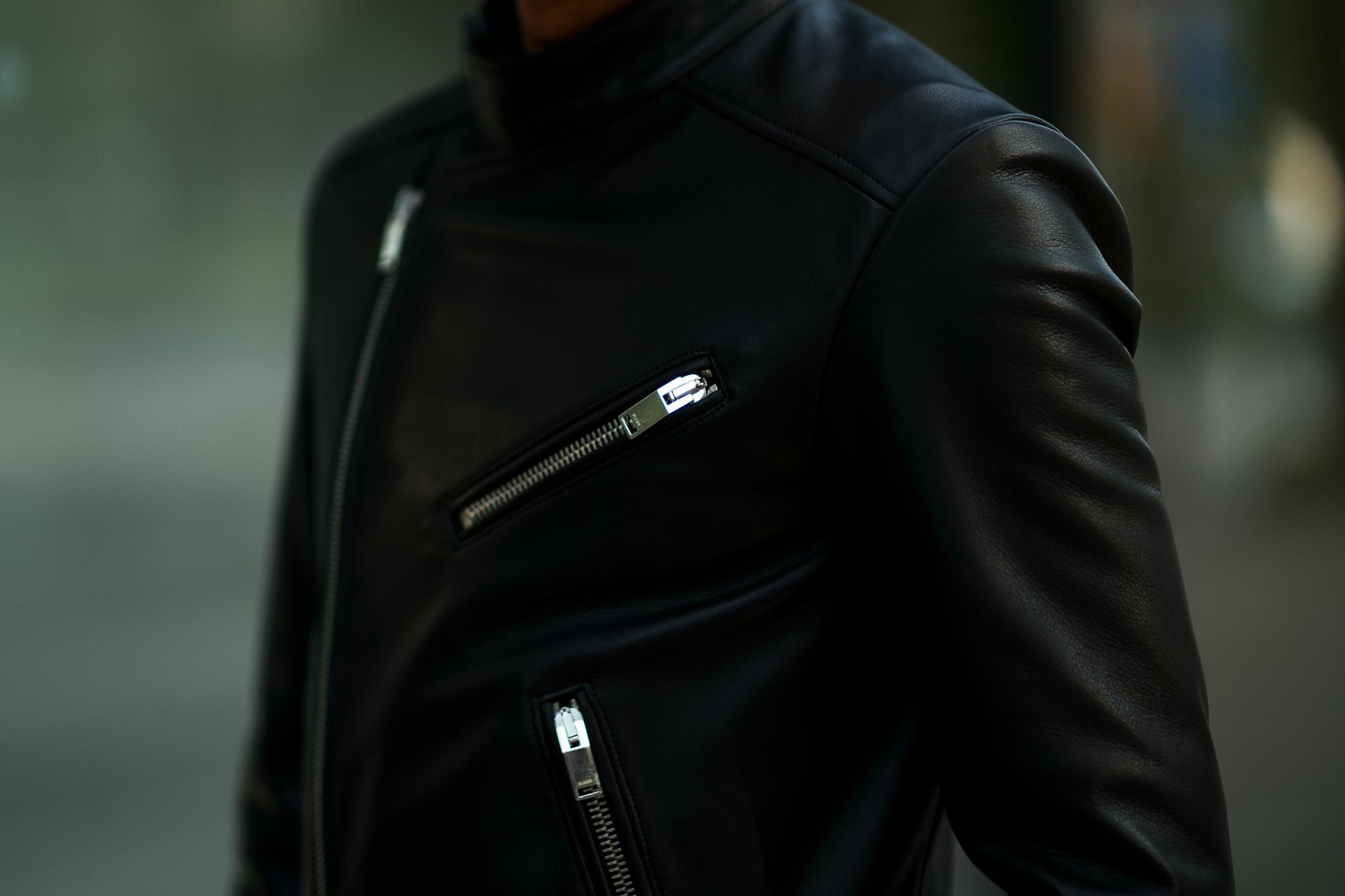 FIXER(フィクサー) F1(エフワン) DOUBLE RIDERS Cow Leather ダブルライダース ジャケット BLACK(ブラック) 【ご予約開始】【2019.9.29(Sun)~】【3枚限定】 愛知 名古屋 altoediritto アルトエデリット