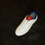 GHOUD(ゴード) L1LML25-LOB01 LOW MAN レザースニーカー WHITE/BLUE/RED(ホワイト/ブルー/レッド) 2020 春夏  【第1便ご予約分完売】【第2便ご予約開始】のイメージ