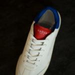 GHOUD(ゴード) L1LML25-LOB01 LOW MAN レザースニーカー WHITE/BLUE/RED(ホワイト/ブルー/レッド) 2020 春夏  【第1便ご予約分完売】【第2便ご予約受付中】のイメージ